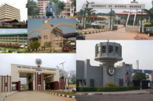 Most sought out Universities in Nigeria