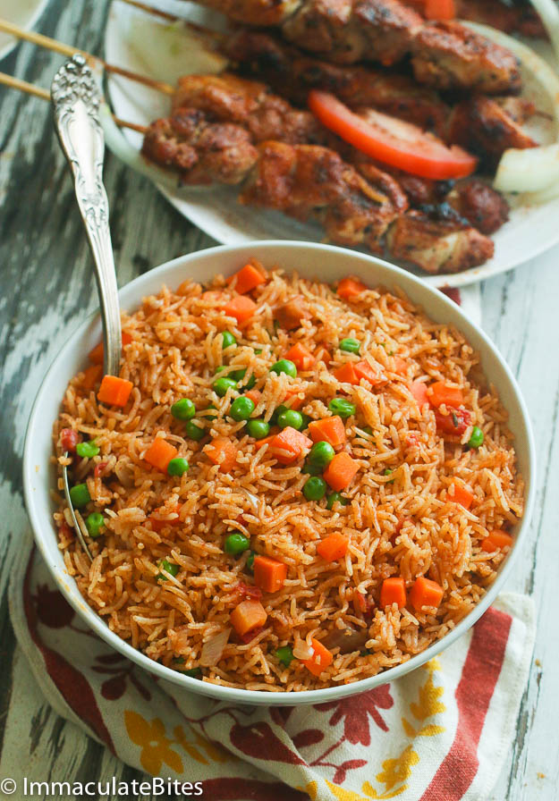 jollof rice Nigerian dishes for dinner