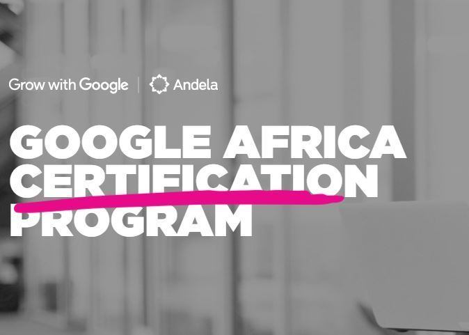 Google Africa Certification Scholarship