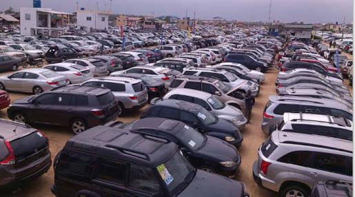 Tokunbo Cars from Cotonou