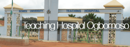 BUTH Nursing Admission form
