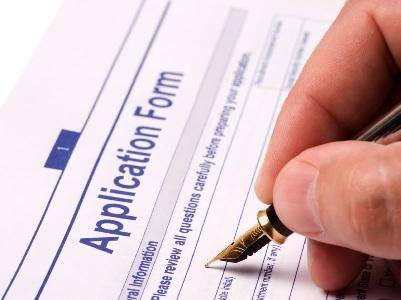 Filling an Application Form