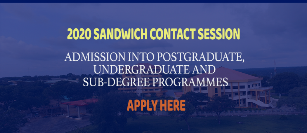 How to Apply for UNILORIN Sandwich Admission Form