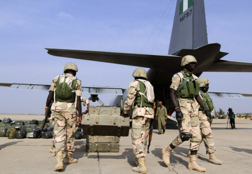 Nigerian Airforce Soldiers Recruitment