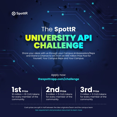 The SpottR Campus API Challenge
