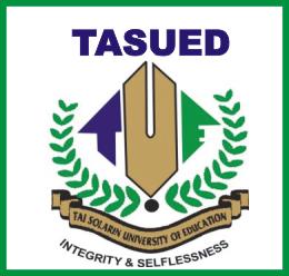 TASUED Post UTME Form
