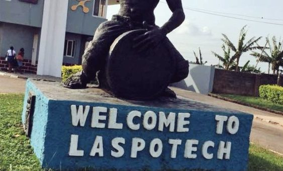 Laspotech Post Utme ND Form